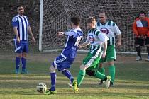 Slovan Kvíčovice - Hraničář Česká Kubice 3:5 (3:3)
