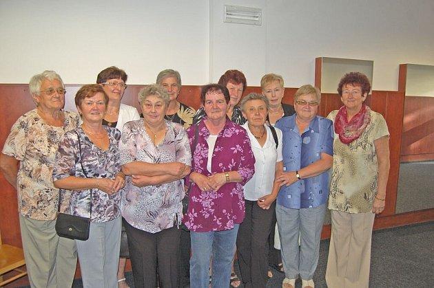4. setkání bývalých zaměstnanců kdyňských přádelen česané příze.