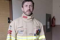 Antonín Rendl v novém obleku.