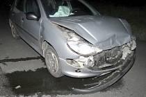 Nehoda mezi Staňkovem a Osvračínem.