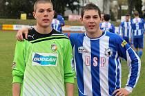 Třetiligové derby mezi Jiskrou Domažlice a Viktorií Plzeň B.