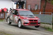 Marcel Tuček na trati Rallye Český Krumlov.