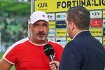 Utkaní 4. kola fotbalové FORTUNA:LIGY: MFK Karviná - SK Slavia Praha, 4. srpna 2019 v Karviné. Na snímku trenér Slavie Jindřich Trpišovský.