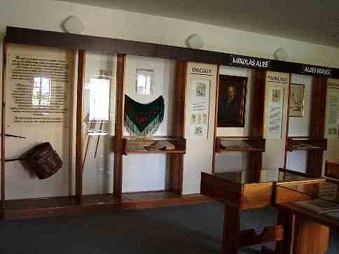Kozinův statek v Újezdě prezentuje jako Pamětní síň Jana Sladkého - Koziny historii obce a Chodů. Foto: archiv OÚ Újezd