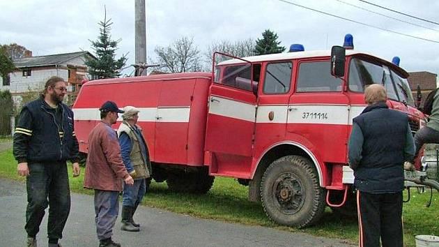 Nová cisterna hlohovských hasičů.