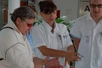 Světový den hygieny rukou v Domažlické nemocnici.