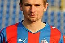 Fotbalista Martin Hrubý.