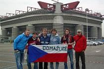 Domažličtí nadšenci vyrazili za fotbalem do Itálie.