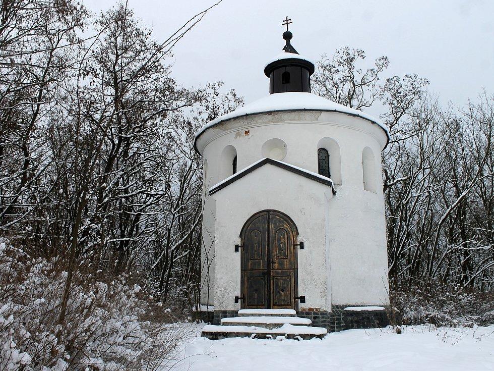 Kaple Panny Marie Lurdské na vrchu Mastník u Staňkova byla vysvěcena v květnu 1898.