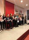 Z návštěvy  francouzských studentů u partnerů z GJŠB Domažlice.