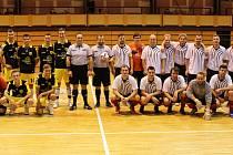 Semifinále krajské části Poháru FAČR ve futsalu FIFA - Ferda´s Group Domažlice a FC Jerigo 1994 Plzeň.