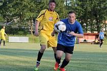 Z utkání fotbalistů FC Dynamo H. Týn B a Sokola Kout na Šumavě A.