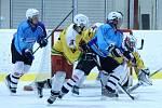 Z utkání hokejistů HC Staňkov s LHC Kralovice.