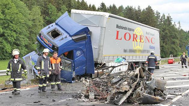 Mladý řidič z Domažlicka zahynul při nehodě v Německu.