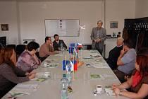 Workshop komunitního centra Fazole v prostorách úřadu práce pomáhal najít podporu zaměstnanosti v regionu.