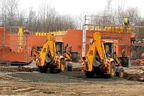 Stavba Tesca ve Kdyni bude dokončena před prázdninami.
