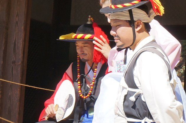 Z návštěvy Ladislava Lešického v Koreji.