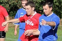 Z utkání futsalistů RSC Domažlice, Ajax Staňkov B a HSK Domažlice v Havlovicích.