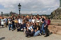 Návštěva Prahy – Karlův most.