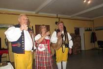Z dvanáctého Setkání seniorů v Semněvicích.