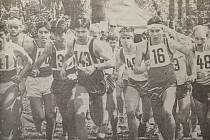 Start Běhu Škarmanem v roce 1995.