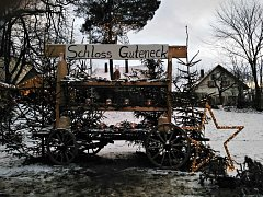 Vánoční trhy v Gutenecku  zaujaly i klenečské.