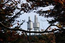Hohen Bogen je nepřehlédnutelný díky svým věžím.