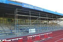 Městský stadion na Střelnici v Domažlicích.