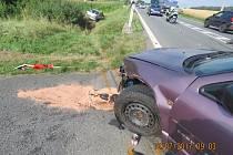 Nehoda u Vránova.