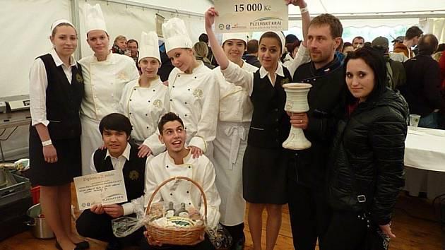 Horšovskotýnští na soutěži Vaříme s regionální potravinou