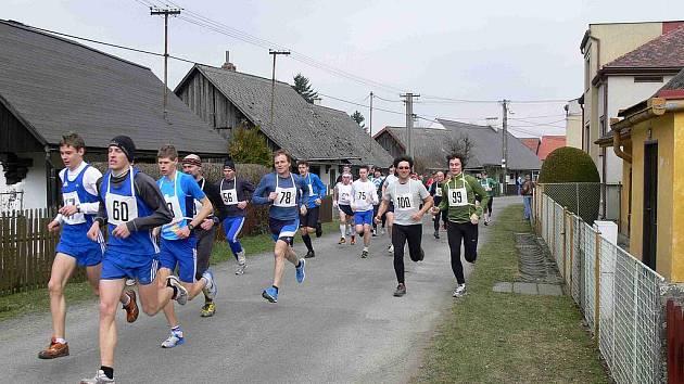 36. ročník Běhu Koutem na Šumavě 2011.