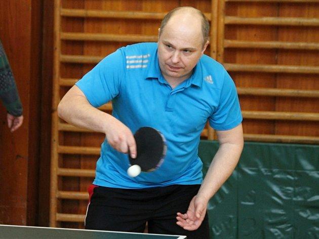 První ročník Memoriálu Miroslava Holinky ve stolním tenisu v Hostouni.