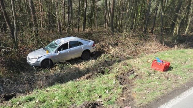 Nehoda u Krchleb.