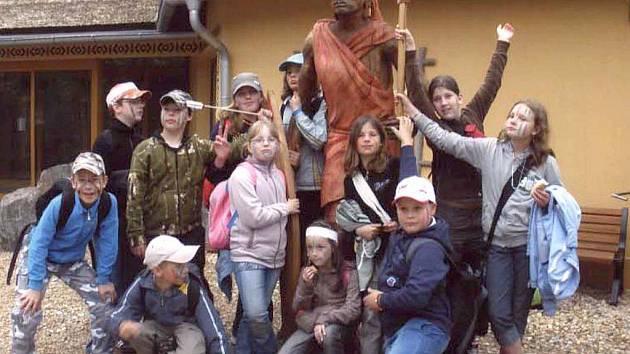 Návštěvu West parku v Plzni si koutské děti užily.