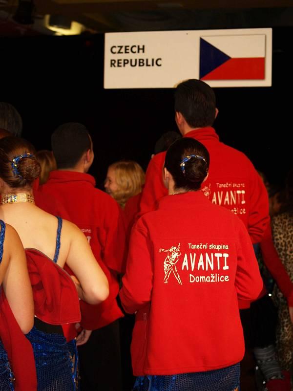Domažlická skupina Avanti si vytančila v Liberci zlato.