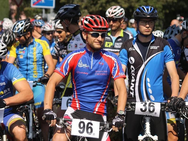 MTB maraton Brnířovská šlapka 2013.