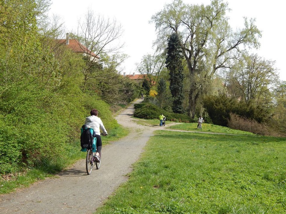 Zámecký park v Horšovském Týně.