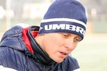 Trenér Jindřich Bittengel.