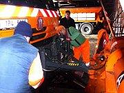 Silničáři na Domažlicku mají připraveno na zimní sezonu 3000 tun soli a 5000 tun inertního materiálu.