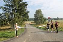 Otevření nové části cyklostezky CT3, spojuje Semošice a Křenovy.