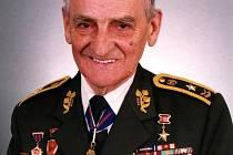 Generálmajor Josef Buršík, nositel řádu Bílého lva in memoriam.