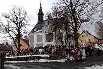 Dominantou Postřekova je kaple sv. Jakuba.