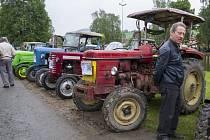 Brnířovské setkání starých traktorů.