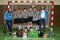 Vítězný A tým mladších žáků Kdyně.