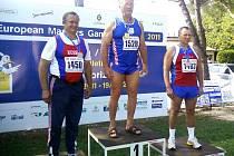 EVROPSKÉ VETERÁNSKÉ HRY. Domažlický atlet Bedřich Řechka vyhrál na Evropských veteránských hrách v Itálii vrh koulí.