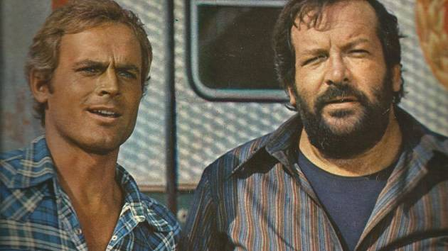 Bud Spencer a Terence Hill.
