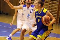 Pohárový zápas domažlických basketbalistů s prvoligovými Litoměřicemi skončil výhrou favorizovaných hostů.