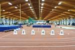 Atletická hala Otakara Jandery byla dějištěm krajských přeborů Plzeňského kraje.