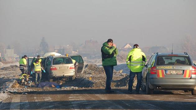 Smrtelná nehoda u Staňkova.