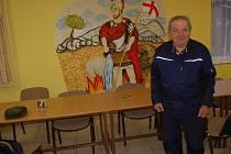 Jan Nechoďdomů sloužil u poběžovických hasičů 53 let.